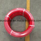 ポリウレタン製品の赤い円形のBeltingオイルの抵抗力がある酸