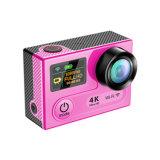 форма LCD/OLED ДВИЖЕНИЙ камеры спорта 4k 30fps удваивает камера спорта DV экрана