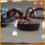 Gioco gonfiabile esterno della pista di corsa dell'automobile per i bambini (AQ1680)