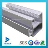 Profil d'alliage d'aluminium du marché de l'Afrique du Sud pour la porte de guichet