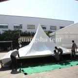 Tente en aluminium lourde provisoire du Gazebo 5X5 d'abri de Chambre de bâti