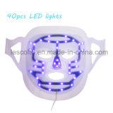광양자 LED 치료가 얼굴 가면 3 색깔에 의하여 점화한다