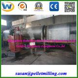 Four continu de carbonisation de cosse de riz de sciure de charbon de bois en bois, poêle de carbonisation