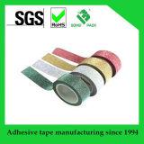 2 cinta auta-adhesivo del palillo de la cinta de Washi del brillo de X 10m