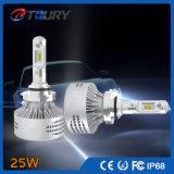25W 자동 헤드라이트 자동 점화 차 LED 맨 위 빛