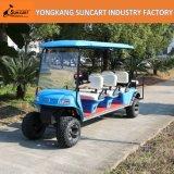 電気ゴルフカート、8 Seater、後部双安定回路のシートと、RyEz 801Aの6+2小型観光バス、空港の電気カート