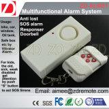 Alarme à télécommande avec fonction perdue de détecteur de SOS l'anti et de sonnette