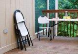 접는 의자 경량 정원 회색