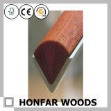 Balustrade de chêne rouge en bois solide de matériau de construction pour la construction