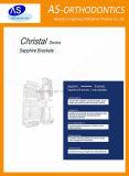 Parentesi di ceramica dello zaffiro ortodontico con 345hooks