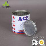 1 جالون دهانة [تين كن] مع غطاء 5 [ليتر] معدن قصدير علبة بيع بالجملة