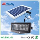 Prix bon marché extérieur solaire de lampe de mur d'acier inoxydable