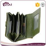 Женщины бумажника Fani повелительница Бумажник PU изготовленный на заказ дешевой выдвиженческой кожаный короткая