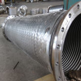 Manguera de metal flexible estándar Convoluted