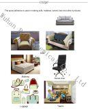 Sofa respectueux de l'environnement de GBL faisant l'adhésif de jet