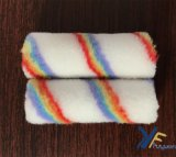 4 '' Polyester Mini Rainbow Stripe Paint Roller