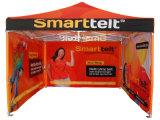 3X3mによっては印刷されるおおいが現れ望楼か展覧会のテントを広告する