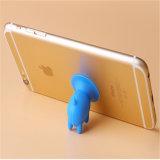 Stand drôle de support de téléphone mobile de silicones de porc de surgeon