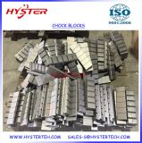 Bimetallic White Iron Wear Barres / blocs chocky CB25, CB40, CB65