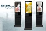 19 - Zoll LCD-Screen-Panel-Fußboden, der Monitor-Kiosk Digital-Displaytouchscreen steht