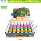 애완 동물 Dinasour 새로운 다채로운 성장하고 있는 계란 부화 계란은 3*5cm를