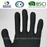 Отрежьте упорные перчатки работы безопасности с покрытием нитрила Sandy