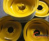 Borde Dw20*38/ruedas de acero para las aplicaciones agrícolas de la granja