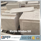 Windowsの土台およびカウンタートップのためのハイエンド磨かれたM231 Volakasの白い大理石