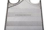 Plaque titanique de Gea Vt20 pour l'échangeur de chaleur de plaque