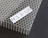 Âme en nid d'abeilles colorée imperméable à l'eau et ignifuge de PC PC3.5