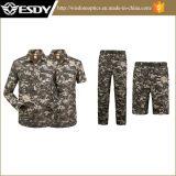 Camisa y bragas de secado rápido, juego movible del camuflaje de Esdy