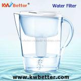 Branco 2016 alcalino novo do jarro do filtro de água do modelo 3.5L da fábrica
