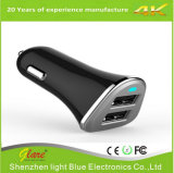 Carregador móvel do carro do diodo emissor de luz da boa qualidade 3.4A