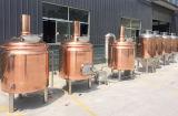 Strumentazione di rame rossa di preparazione della birra/strumentazione per la produzione della birra su una piccola scala