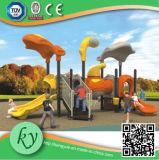 Equipamento plástico do campo de jogos da série do Dreamland grande para os miúdos (KY-10123)