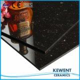 熱い販売のよい価格の黒の水晶二重ローディングの磨かれた磁器のタイル
