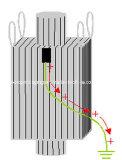 Contenitore di grandi dimensioni intermedio flessibile conduttivo di FIBC