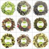 De organische Natuurlijke KruidenSteun en de Darmen van de Beweging van de kom reinigen Laxerende Thee met Privé Etiket
