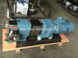 스테인리스 Ss304 Ss316L 위생 위생 캠 회전자 펌프