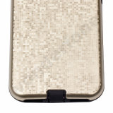 iPhone 7のための1つの電話箱TPUの柔らかく豊富な保護箱に付き2つ