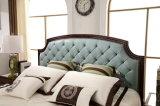 الغرفة نوم أثاث لازم جلد سرير ([جبل2013])