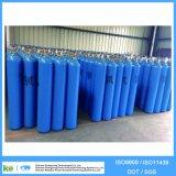 cilindro de gás ISO9809 do oxigênio do aço 40L sem emenda