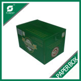 Especificación acanalada del rectángulo del cartón de la fabricación de cajas acanalada del cartón