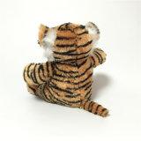 Jouet mou de peluche bourré par coutume du Roi The Forest Tiger Cute