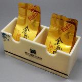 Держатель пакетика чая 2 разделов Tabletop акриловый для пользы гостиницы трактира