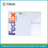 Sobre expreso de la cartulina de la alta calidad con la impresión modificada para requisitos particulares