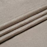 Tessuto 100% della pelle scamosciata del Faux del poliestere per il sofà