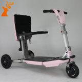 Slim Voertuig dat Autoped Drie vouwt de Autoped van de Mobiliteit van Wielen voor Bejaarden