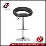 까만 최신 판매 바 의자 홈 가구 Zs-603