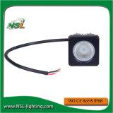 10W LED que trabaja las luces ligeras del trabajo del CREE del LED para la alta luz de conducción del lumen LED de los alimentadores para los coches
